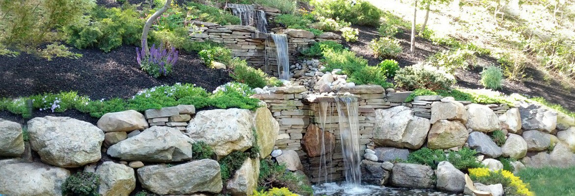 Custom Waterfall Design & Installation