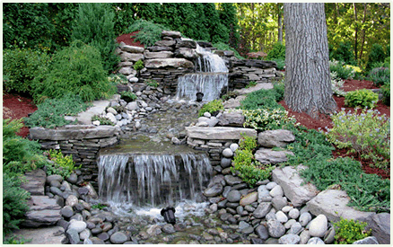 backyard waterfall and streams NY NJ CT